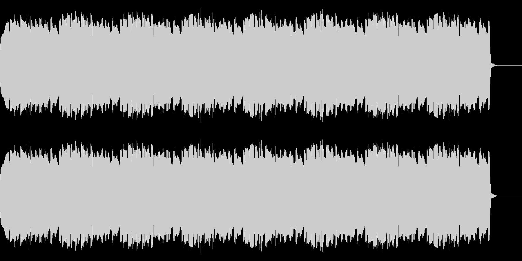 明るい響きのアラーム音の未再生の波形