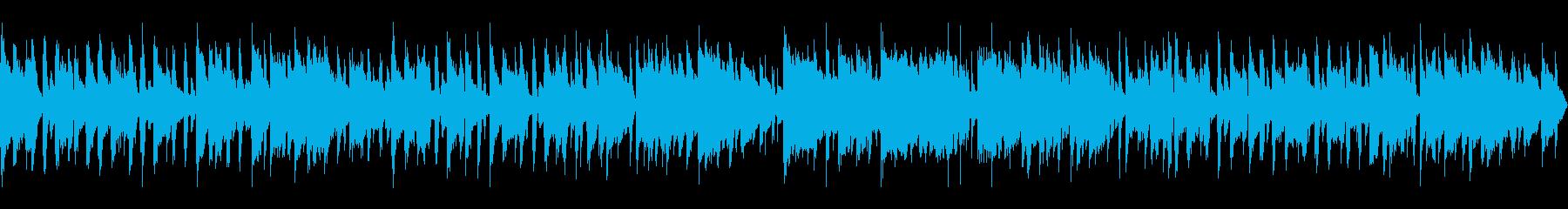 フルートの旋律でゆったりしたボサノバの再生済みの波形