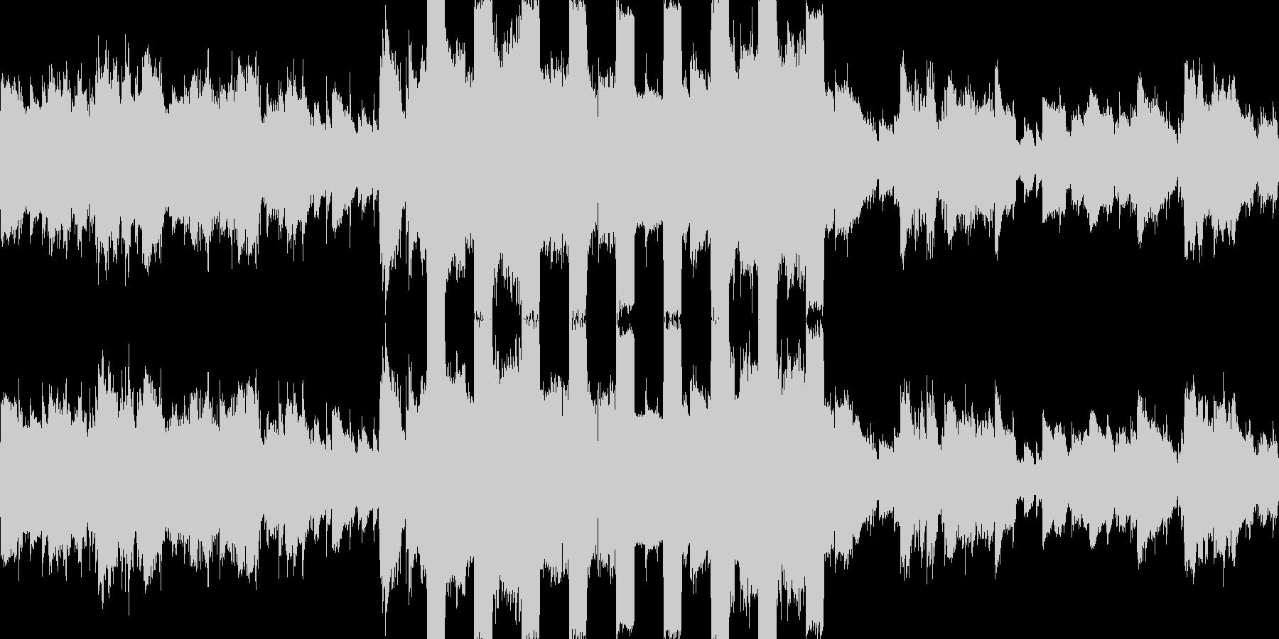 カオスなストリングス、アブノーマルな曲の未再生の波形