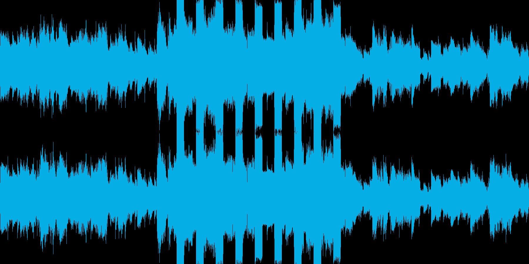 カオスなストリングス、アブノーマルな曲の再生済みの波形