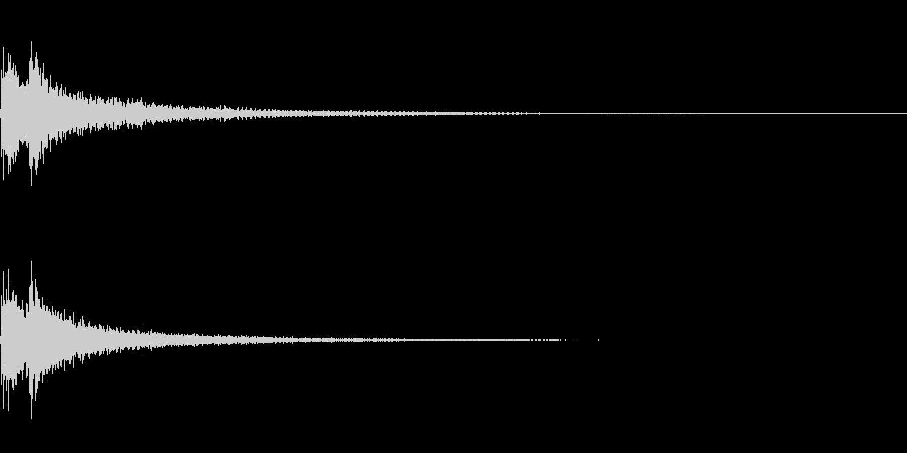 ティンパニーとシンバル☆ドドン!1の未再生の波形