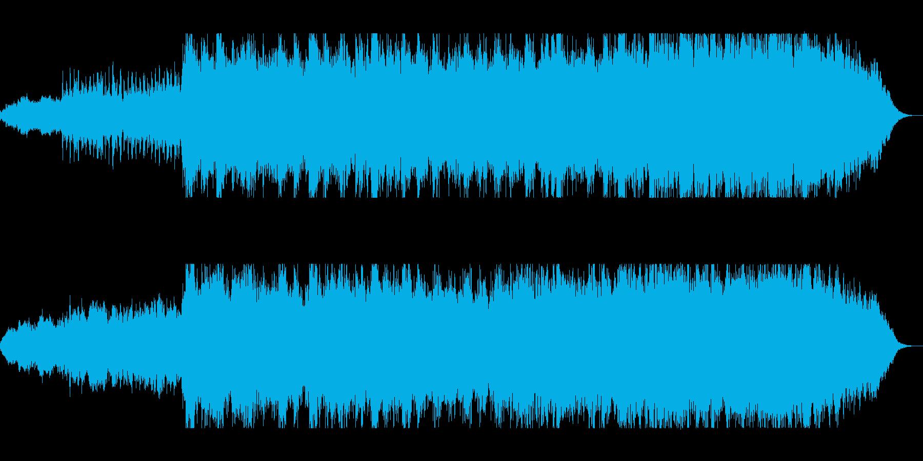 壮大で迫力のオーケストラサウンドの再生済みの波形