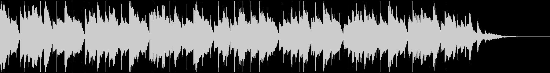 ゆったりとしたピアノポップの未再生の波形