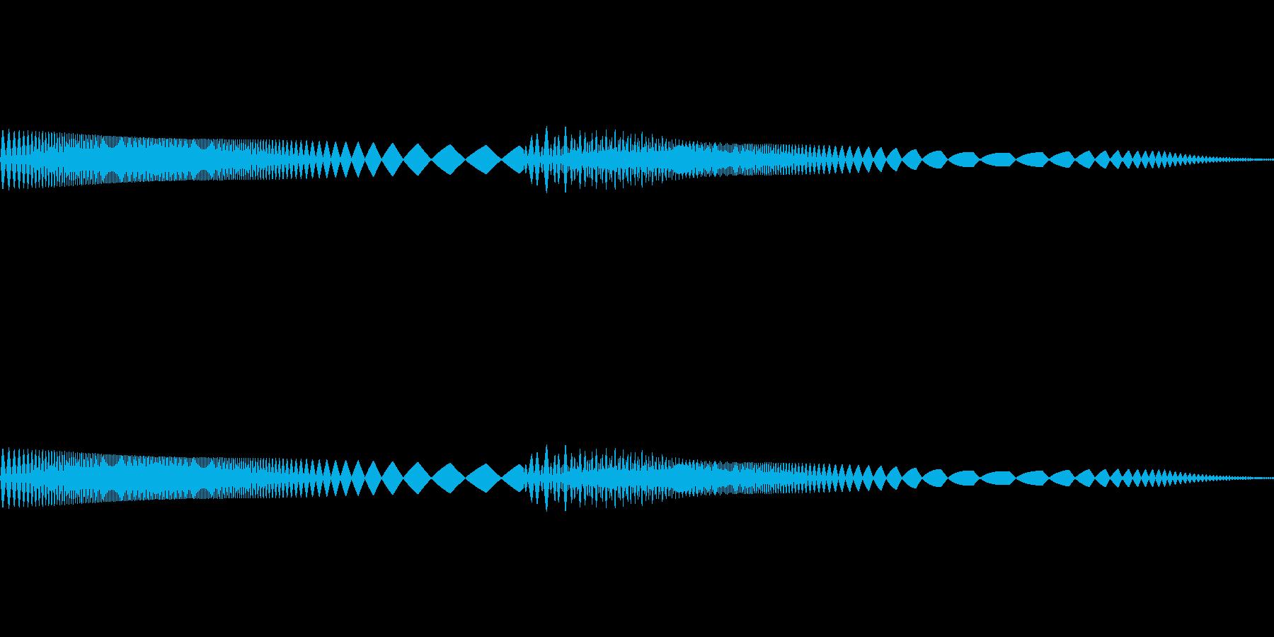ピャピャ(可愛いキャラが登場する時など)の再生済みの波形