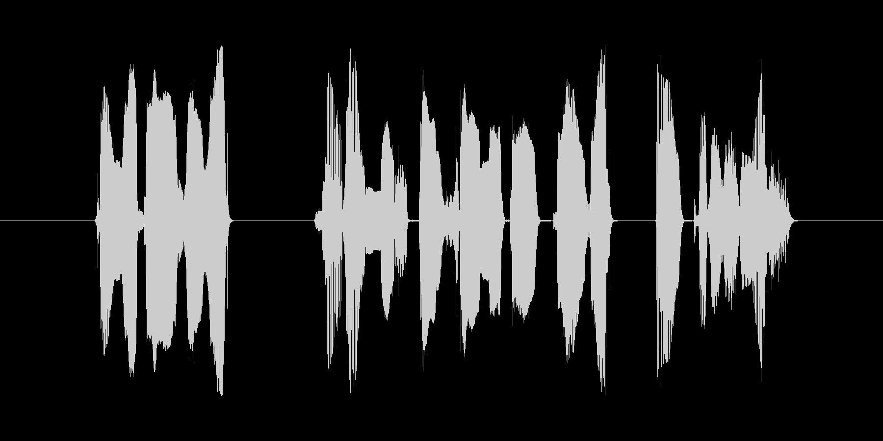 この動画はご覧のスポンサーの提供で・・・の未再生の波形