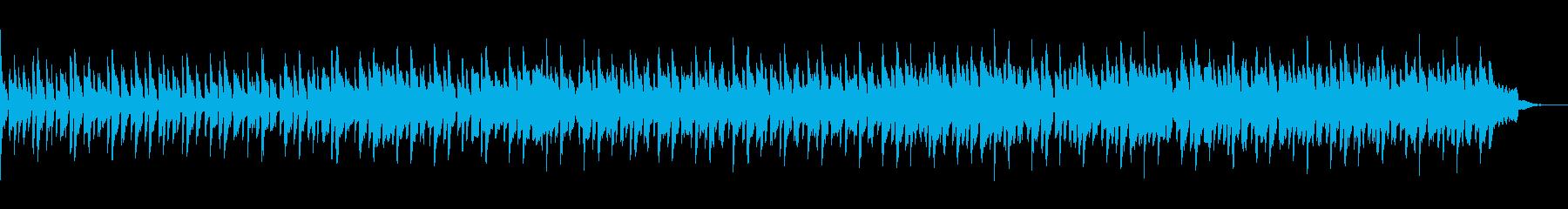 フルートメインのメローな曲の再生済みの波形