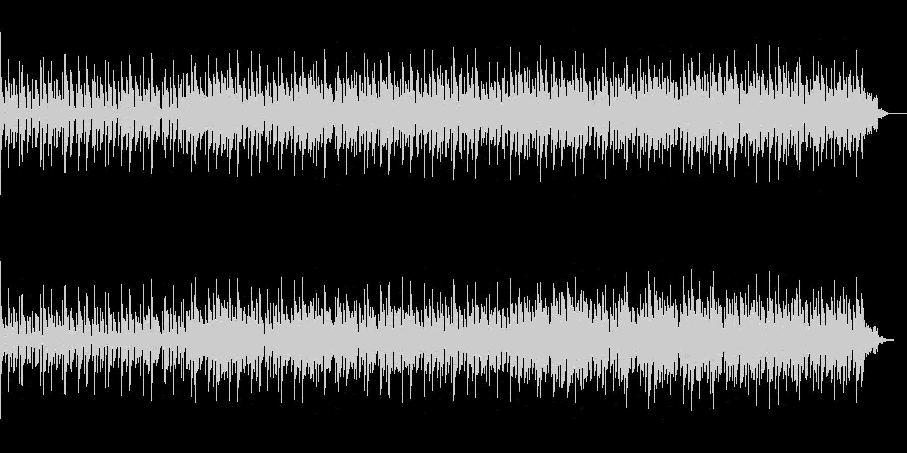 フルートメインのメローな曲の未再生の波形