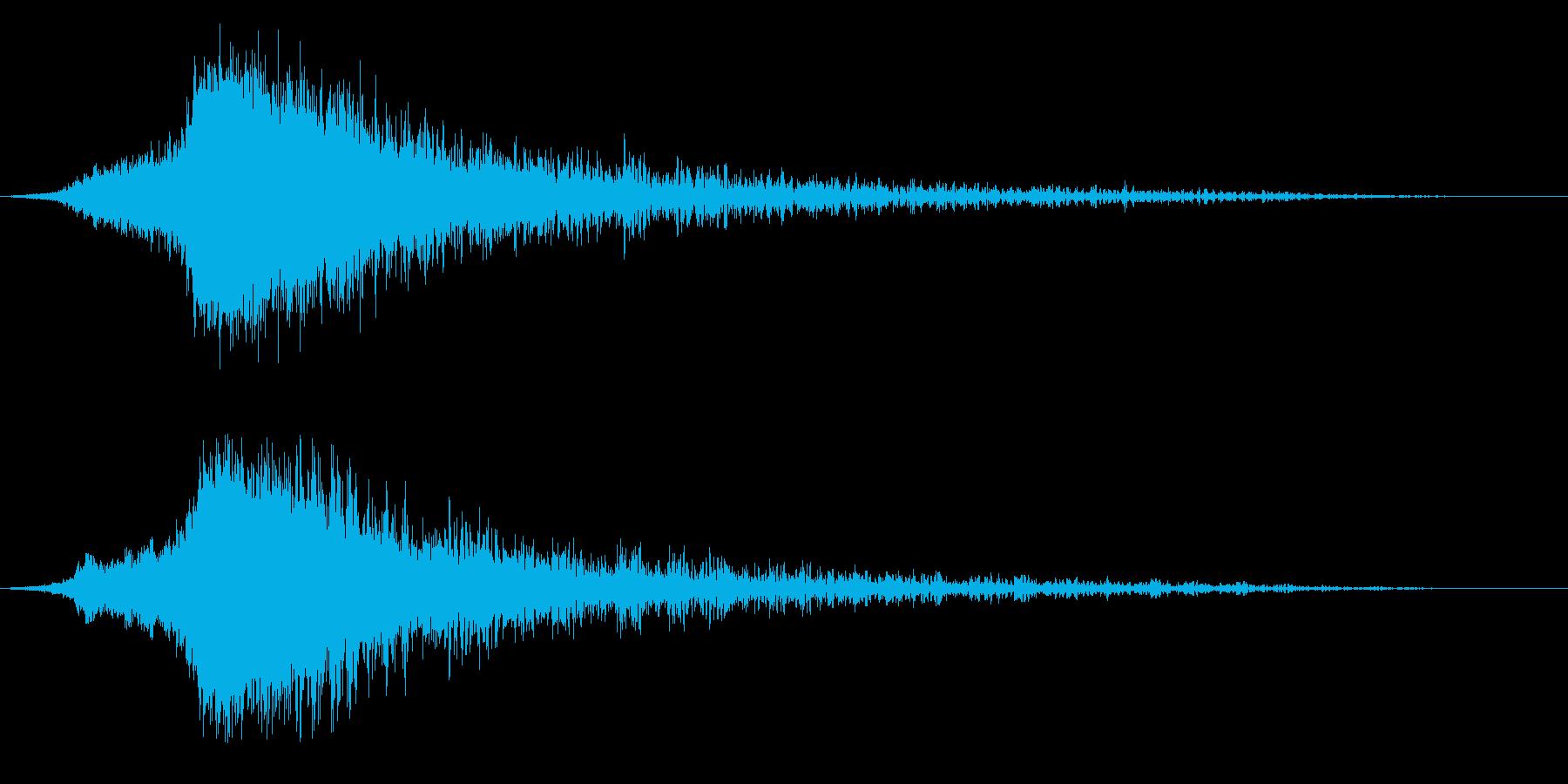 シャキーン♪クリア,達成,回復に最適6bの再生済みの波形