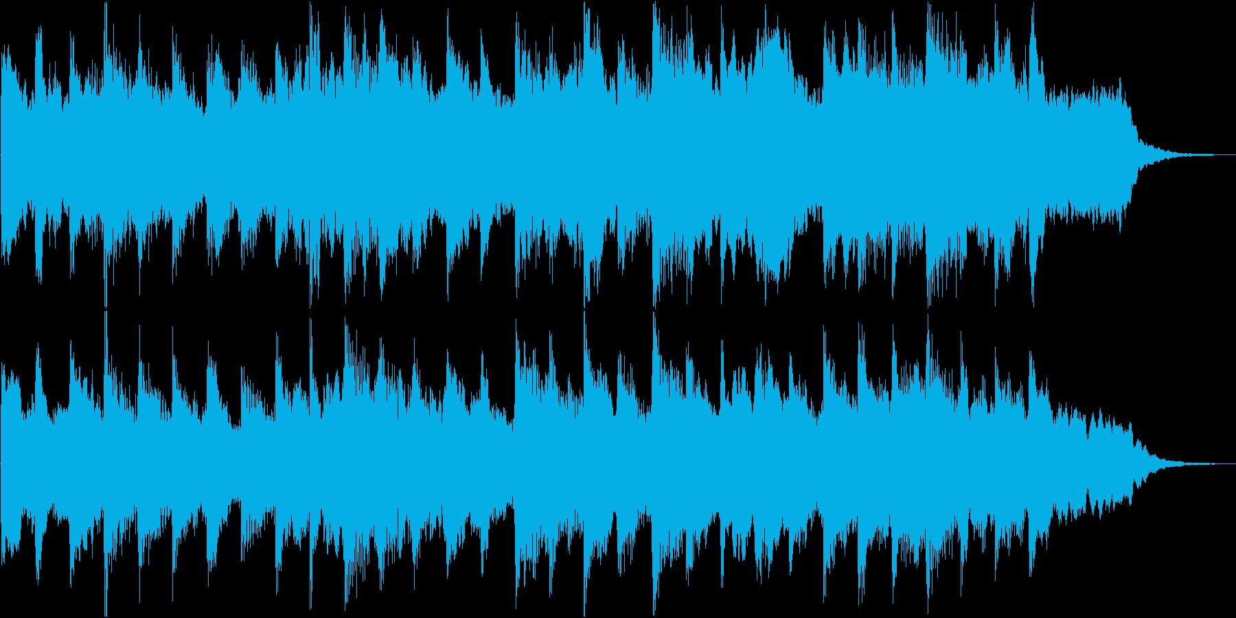 哀愁のあるメロディーが印象的なバラードの再生済みの波形