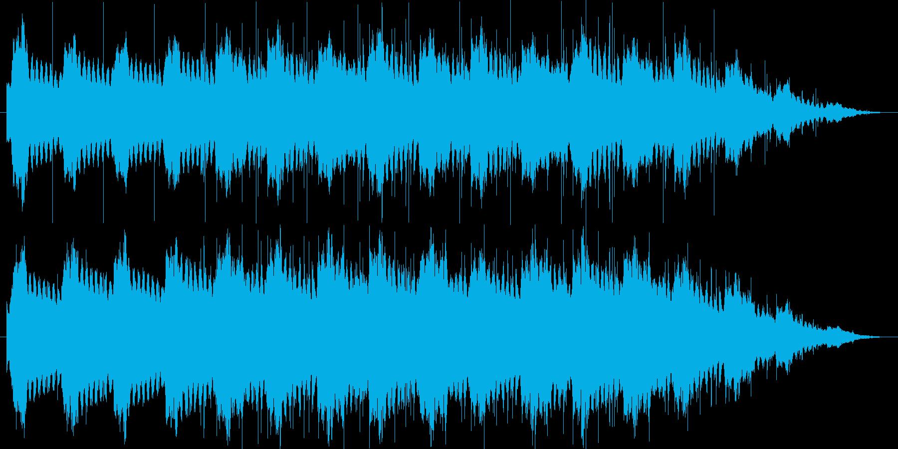寂寥感漂うエレクトロニカの再生済みの波形