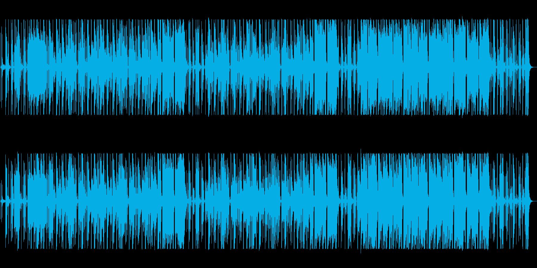 わくわくした雰囲気のジャズの再生済みの波形