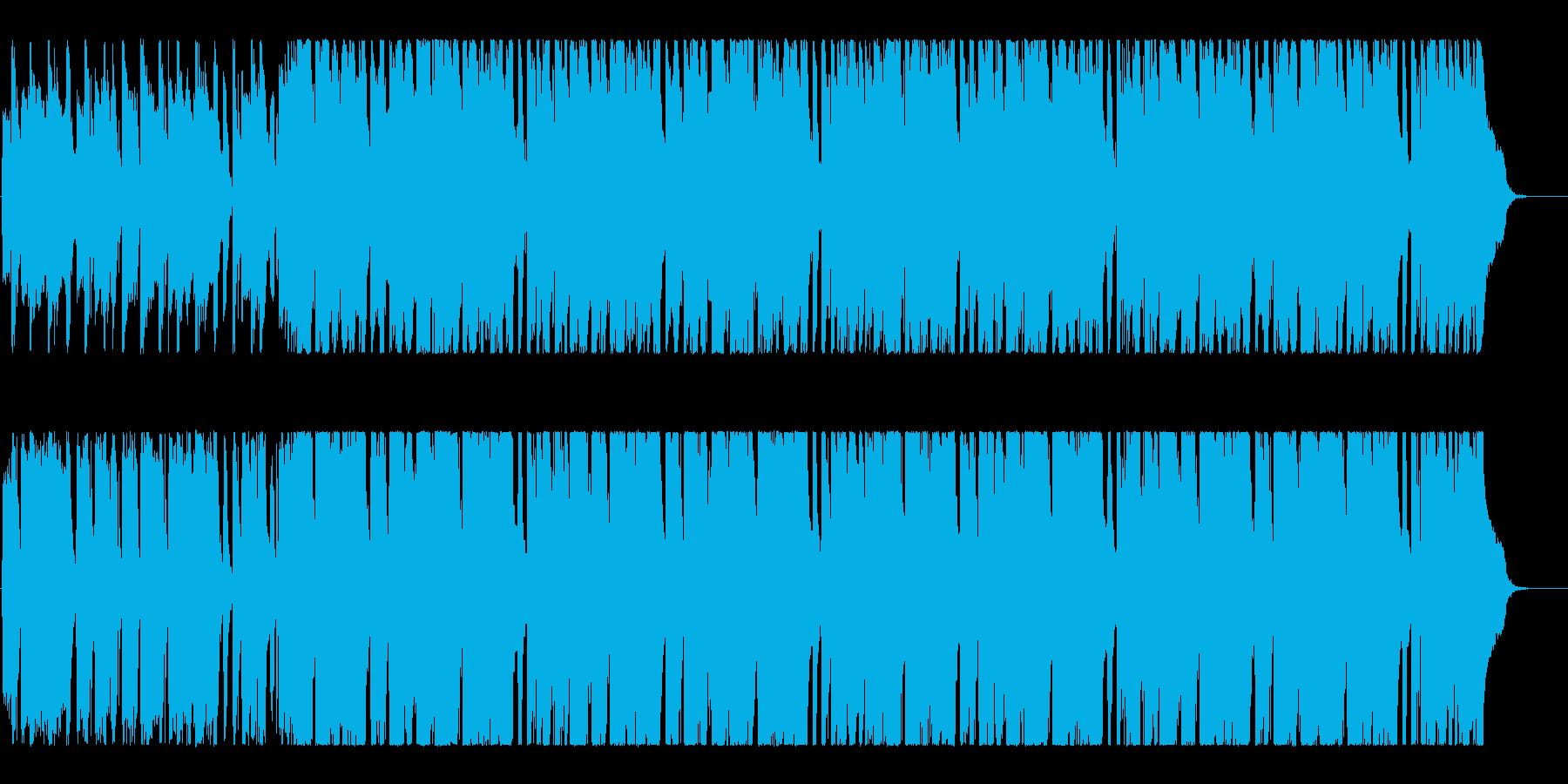 パワフル&キャッチーなインディロック!!の再生済みの波形