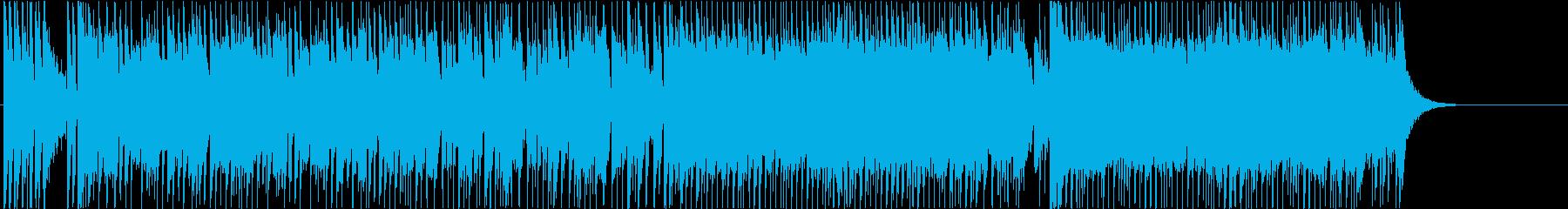 オープニング いきいき 軽快 元気 躍動の再生済みの波形