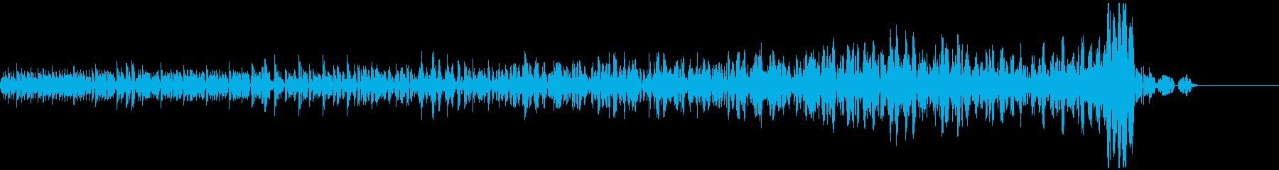 ブ~ン(時を止める瞬間の音)の再生済みの波形