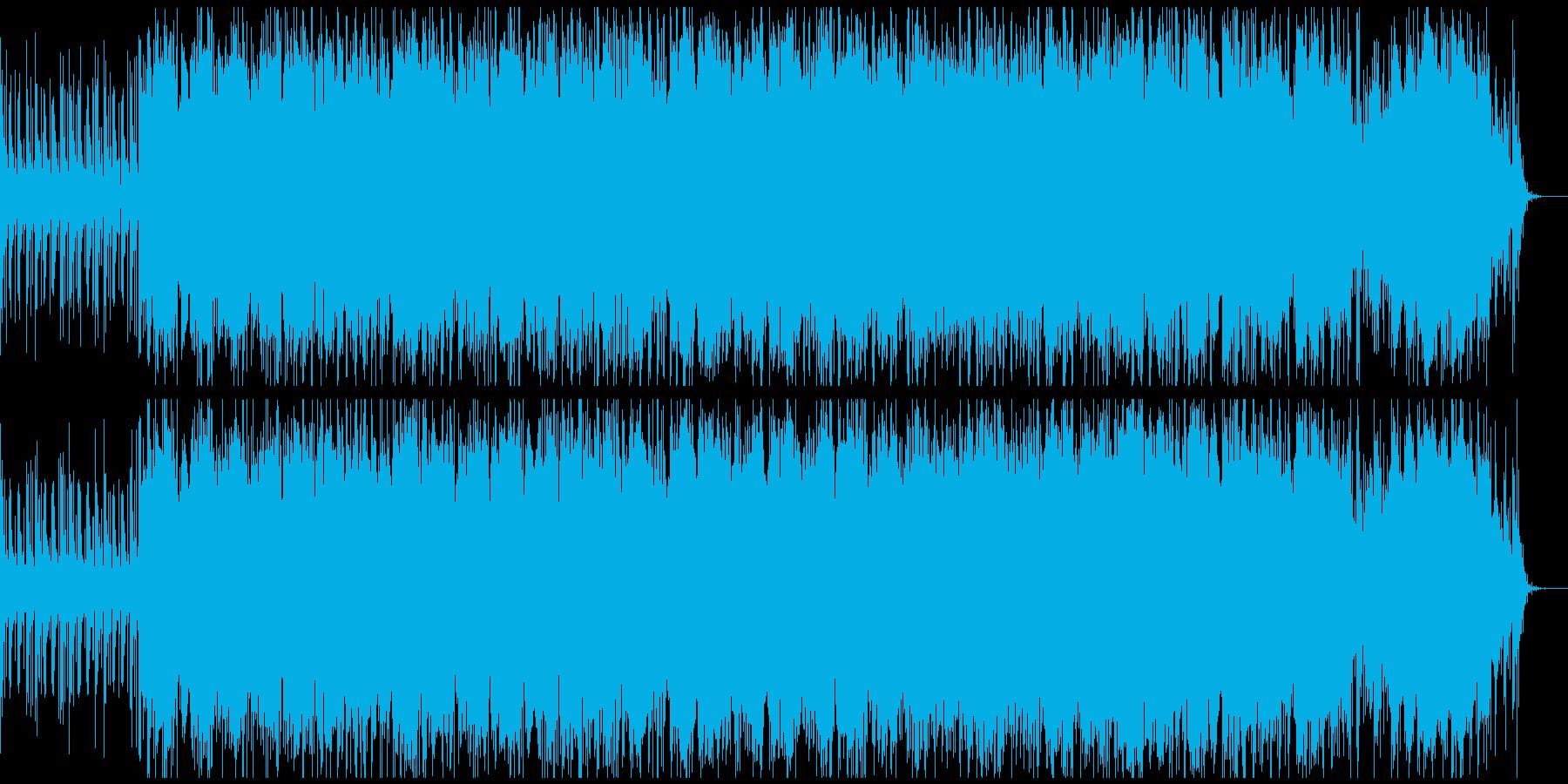 爽やかで、かわいい系のBGMの再生済みの波形