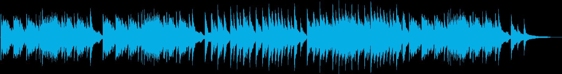 美しく切ないロマンチックなオーケストラの再生済みの波形