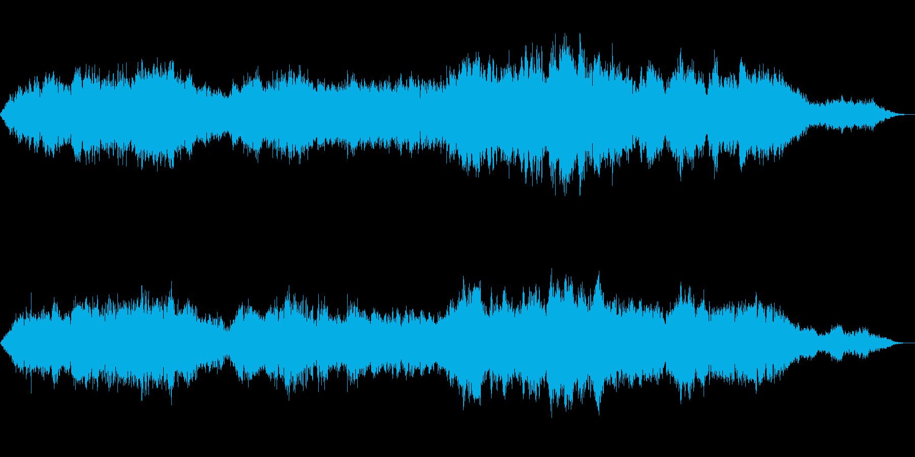 砂漠BGMゲーム・ドキュメンタリー向きの再生済みの波形