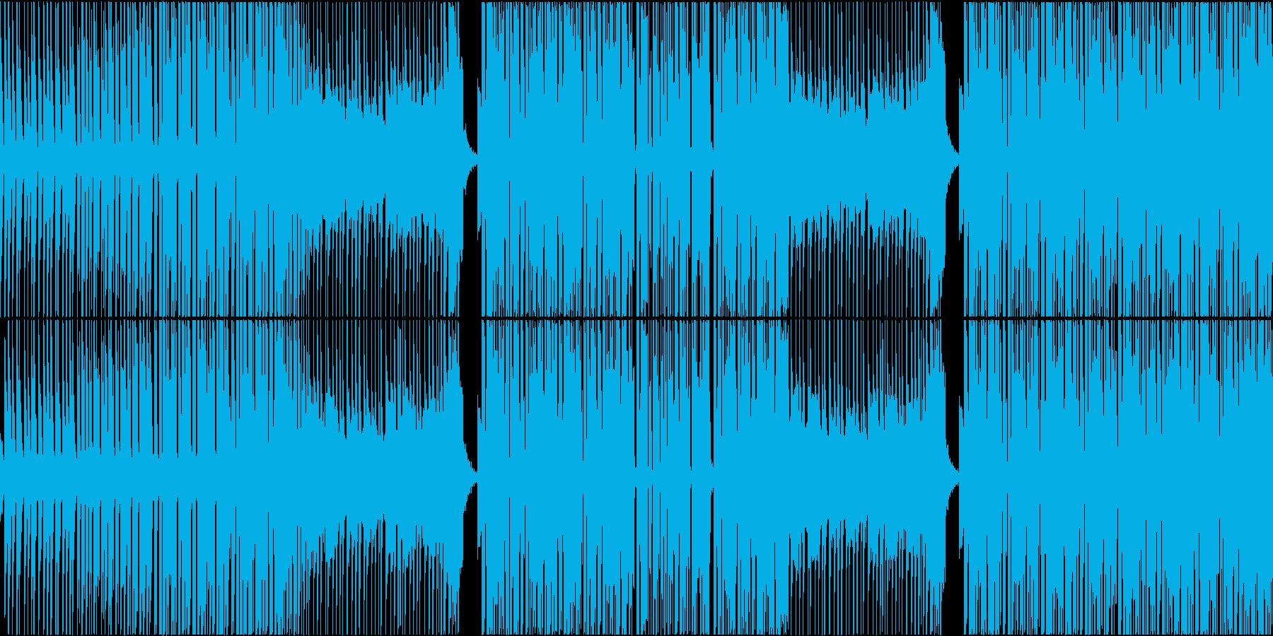 映像作品向きなシンセポップ(ループ用)の再生済みの波形