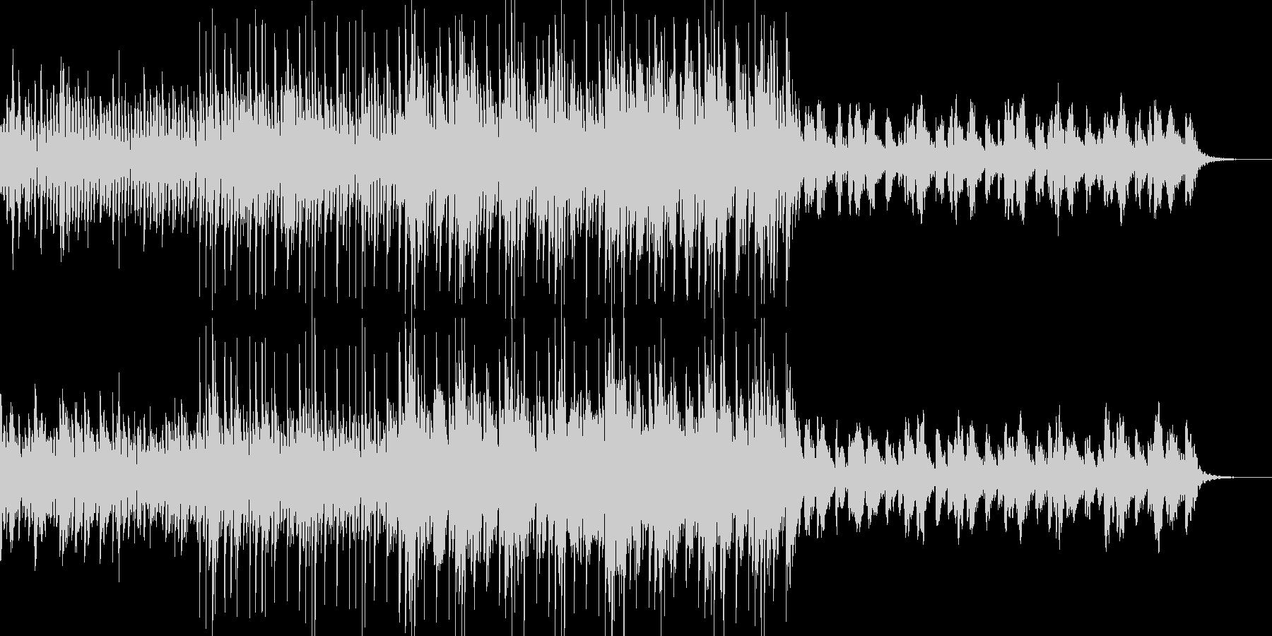 シンセ音をメインにCMなどにどうぞ。の未再生の波形