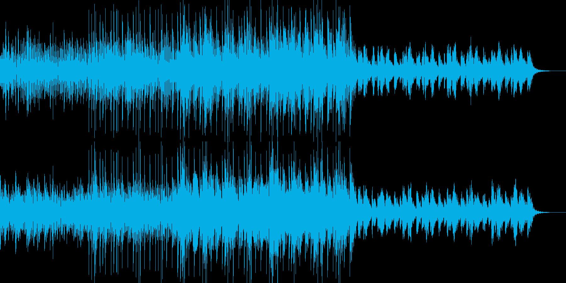 シンセ音をメインにCMなどにどうぞ。の再生済みの波形