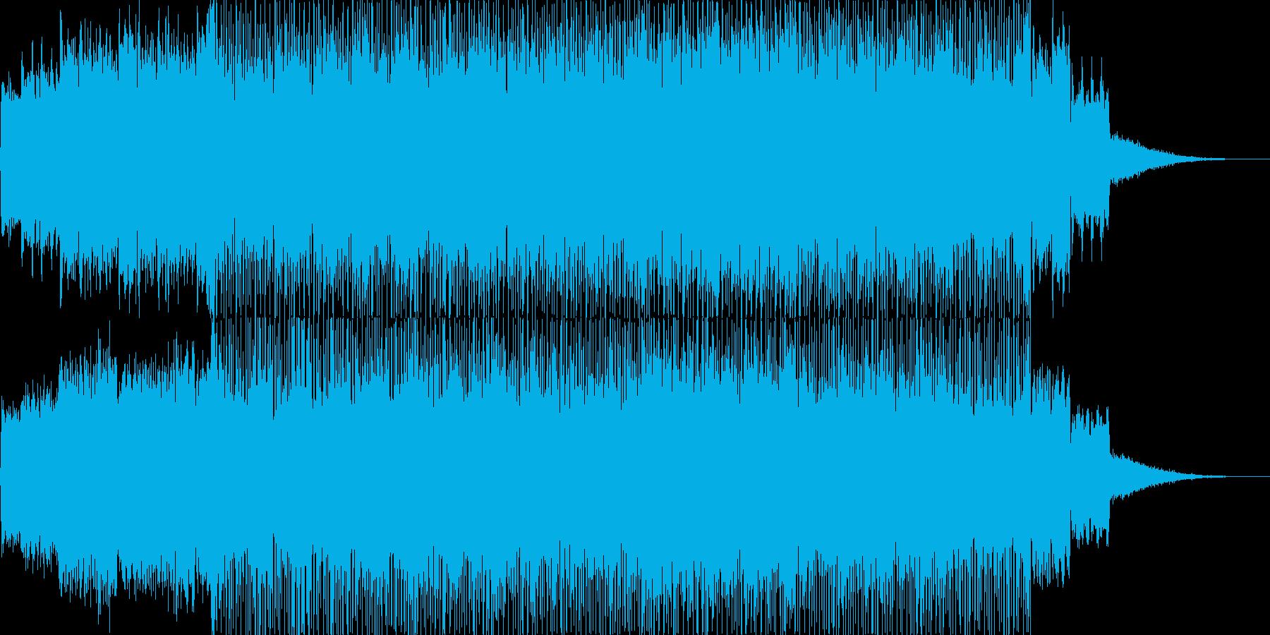 退廃的でアンビエンスの再生済みの波形