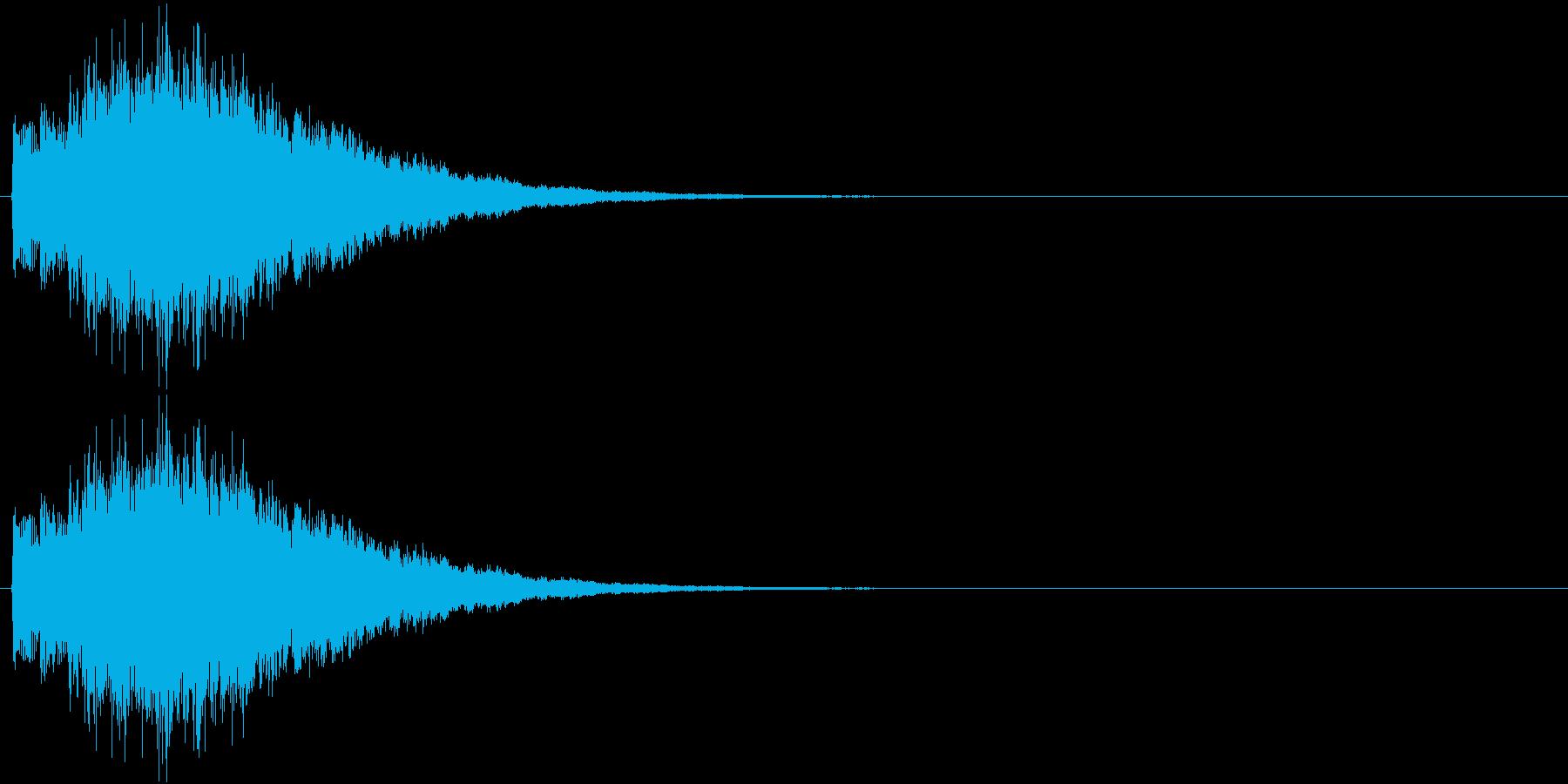 キラキラキラ…(ミステリアス、決定音)の再生済みの波形
