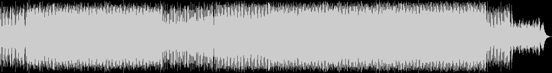 ハッピーなシンセポップハウス系サウンドの未再生の波形