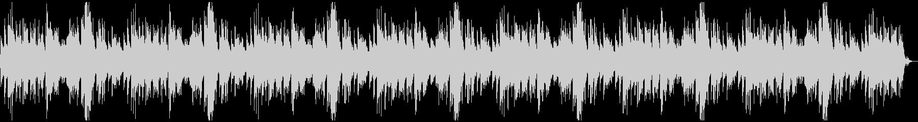センチメンタルなピアノが力強いBGMの未再生の波形
