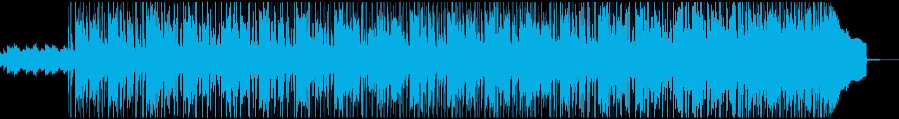 エレピやシンセが入った柔らかいロックの再生済みの波形