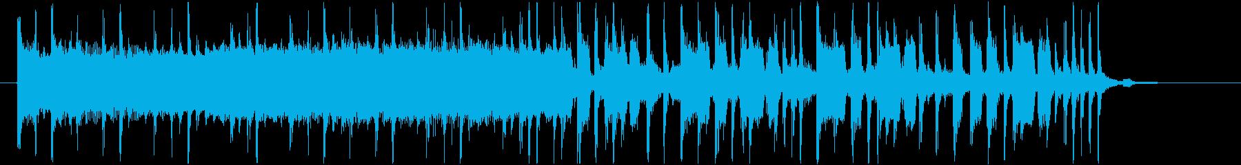 ラジオ等のジングルにR&B風綺麗オシャレの再生済みの波形