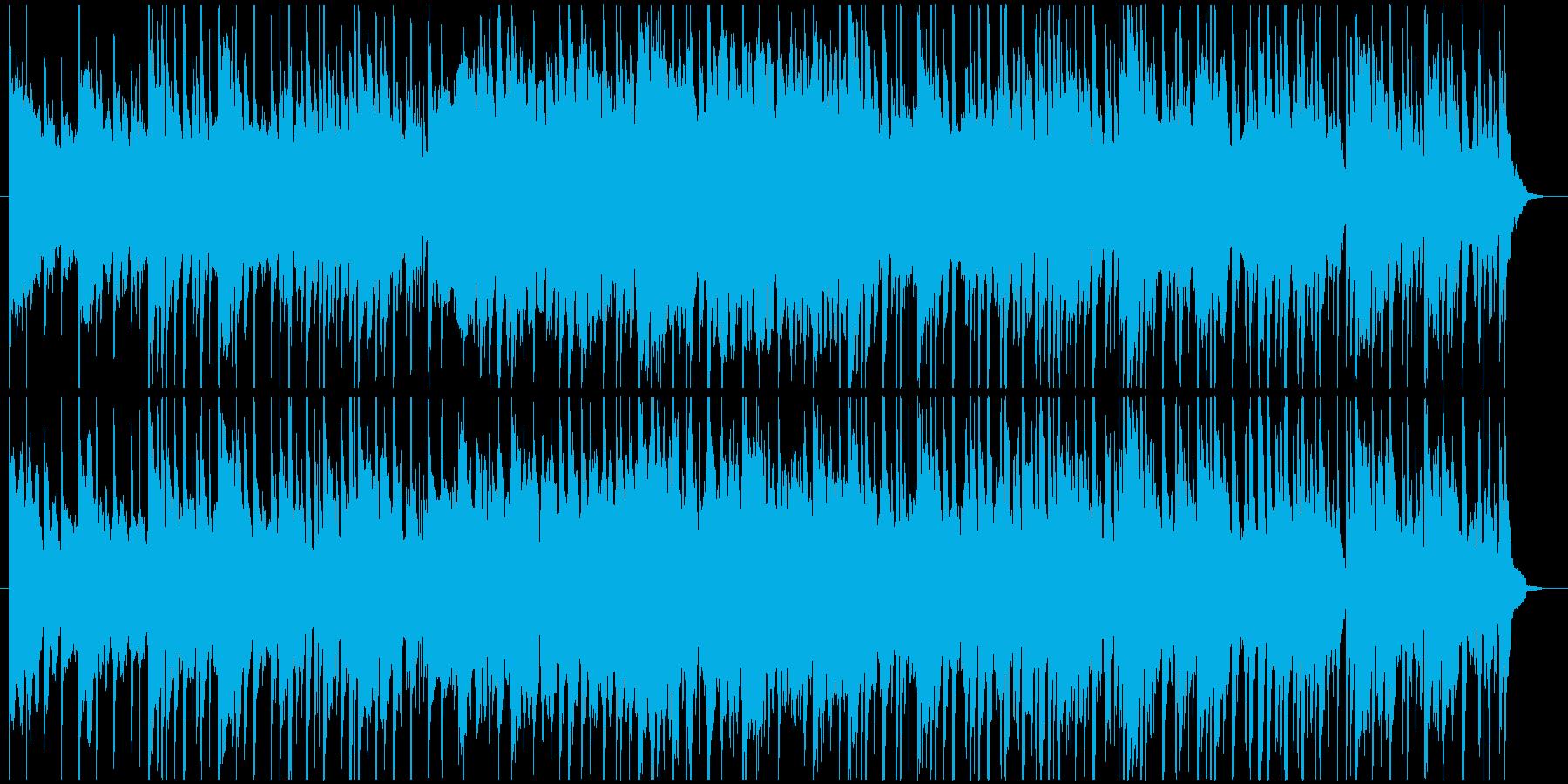 和風・アジアンテイストで穏やかなBGMの再生済みの波形