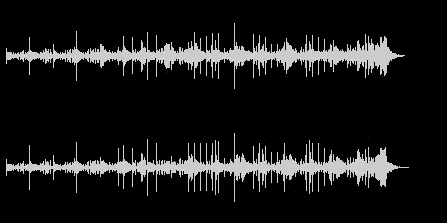 不思議なポップの未再生の波形