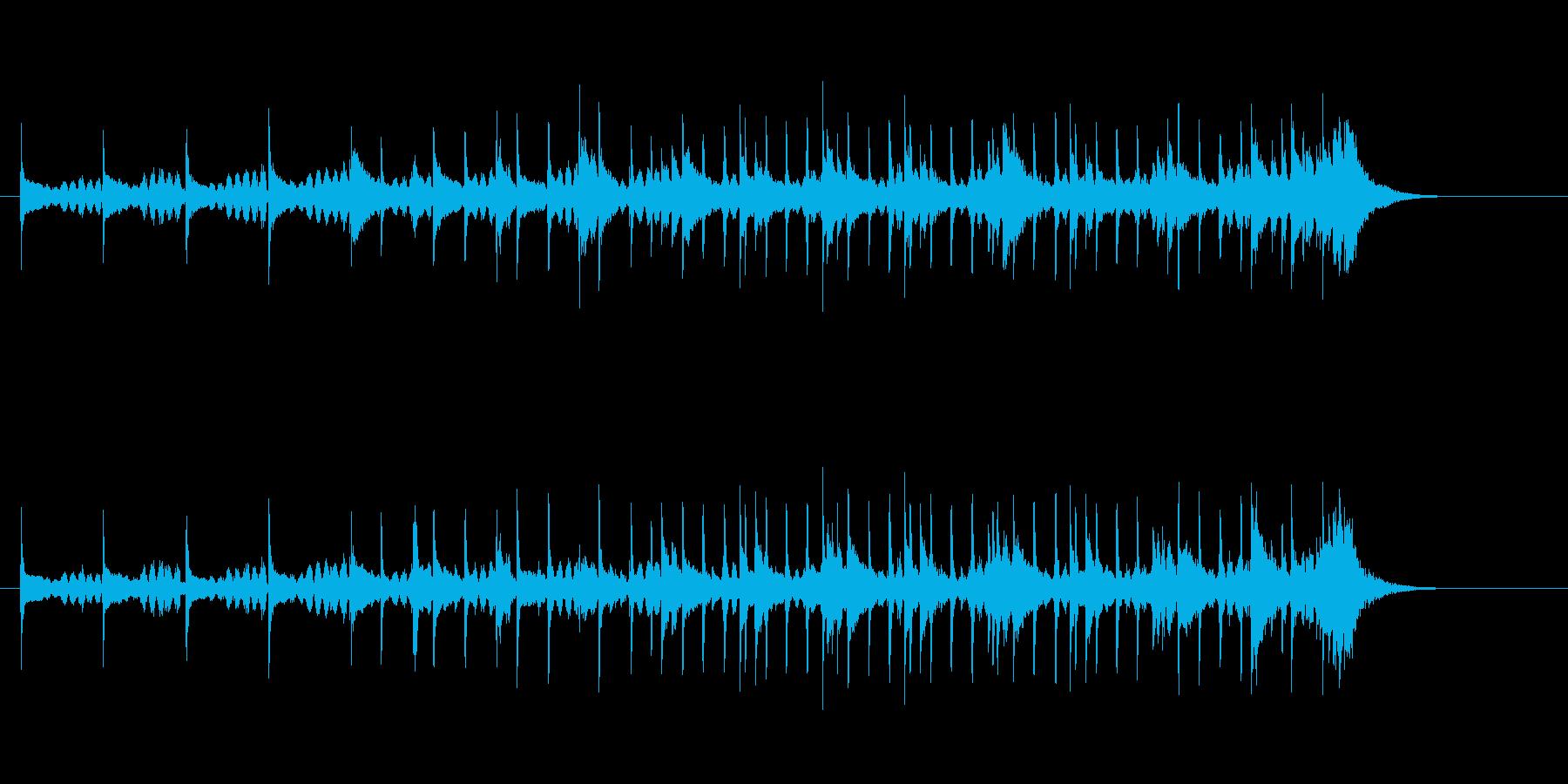 不思議なポップの再生済みの波形