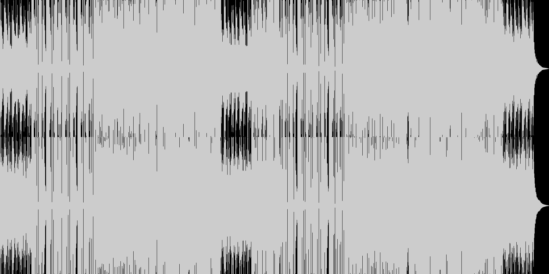 かわいい系フューチャーベースの未再生の波形