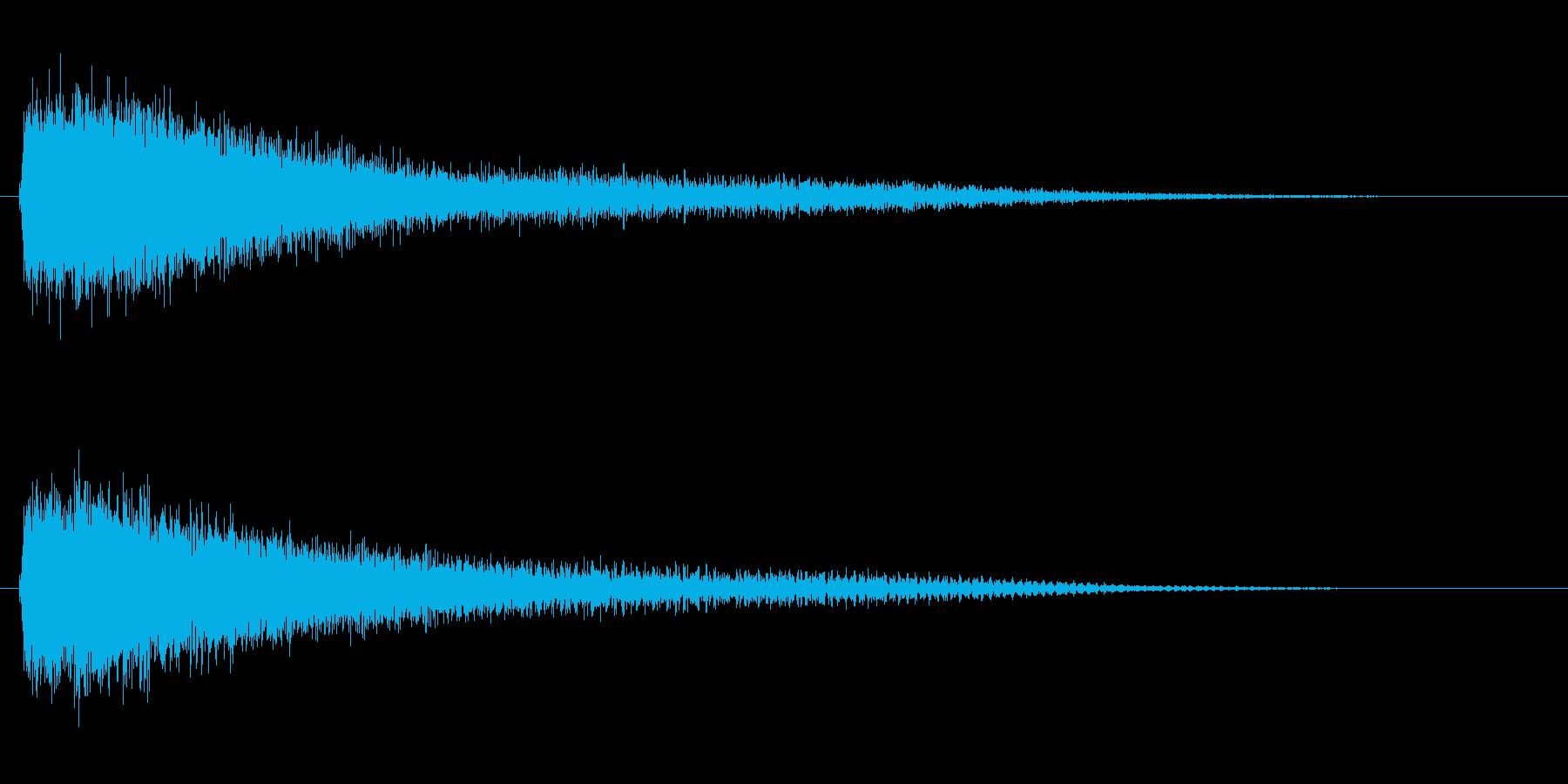 効果音 サスペンス・ホラー・ドッキリの再生済みの波形