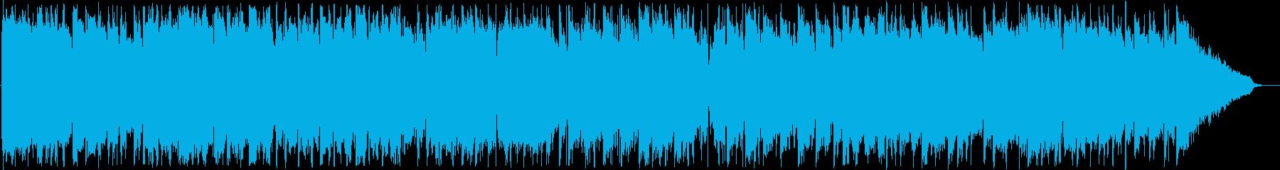 メランコリックで寂しい感じのメロディーの再生済みの波形
