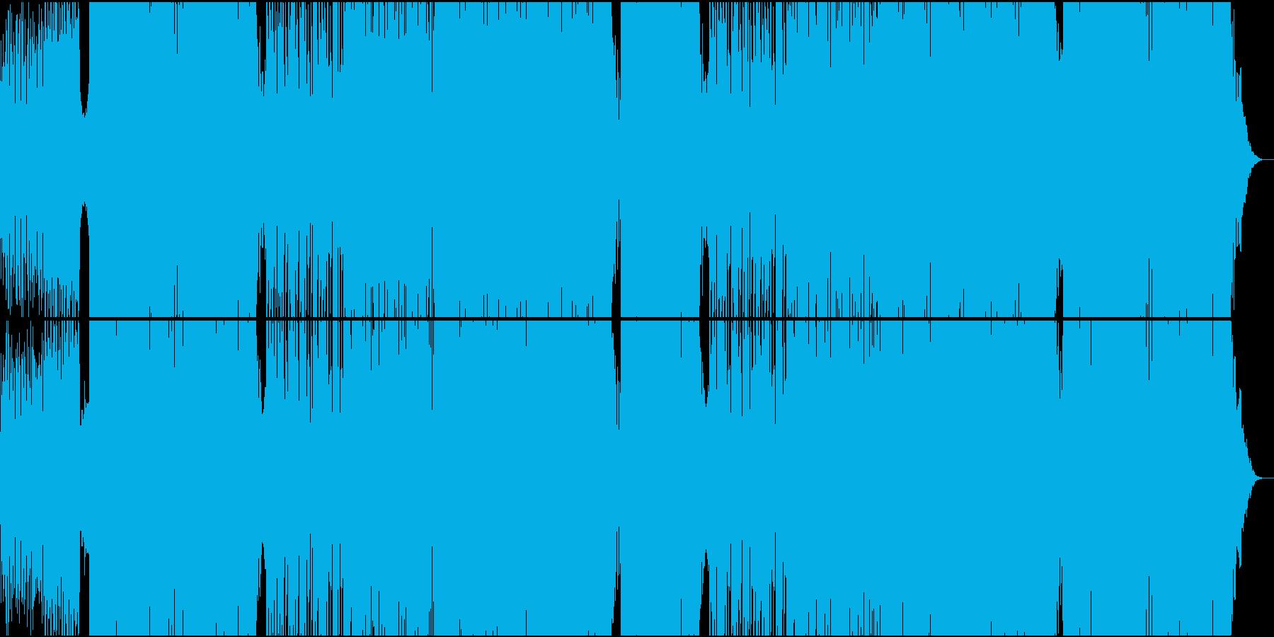 EDMほのぼのとした70'和風ダンスの再生済みの波形