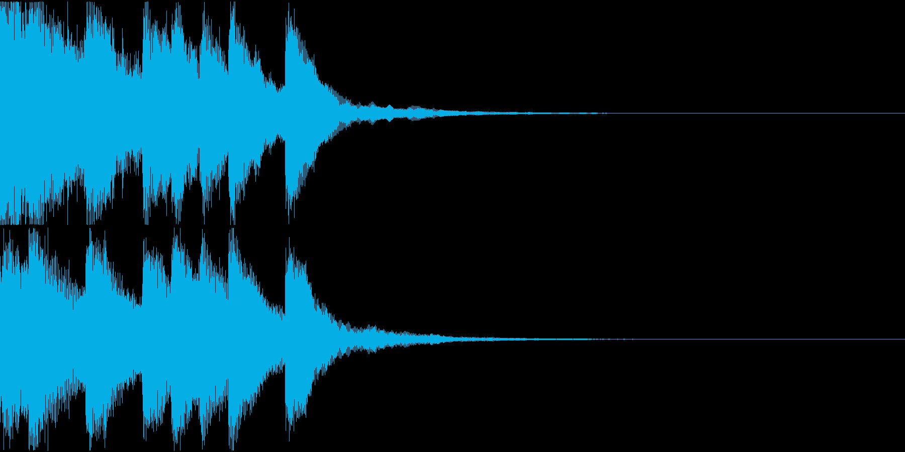 シンプル ベル チャイナ 中国風 10の再生済みの波形
