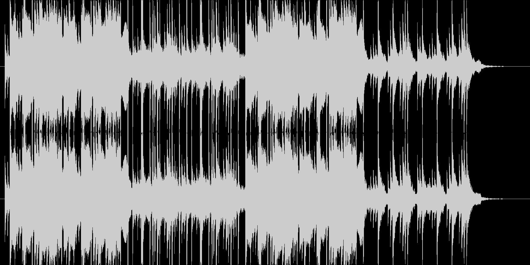 和風・ホラーっぽい不思議系BGMの未再生の波形
