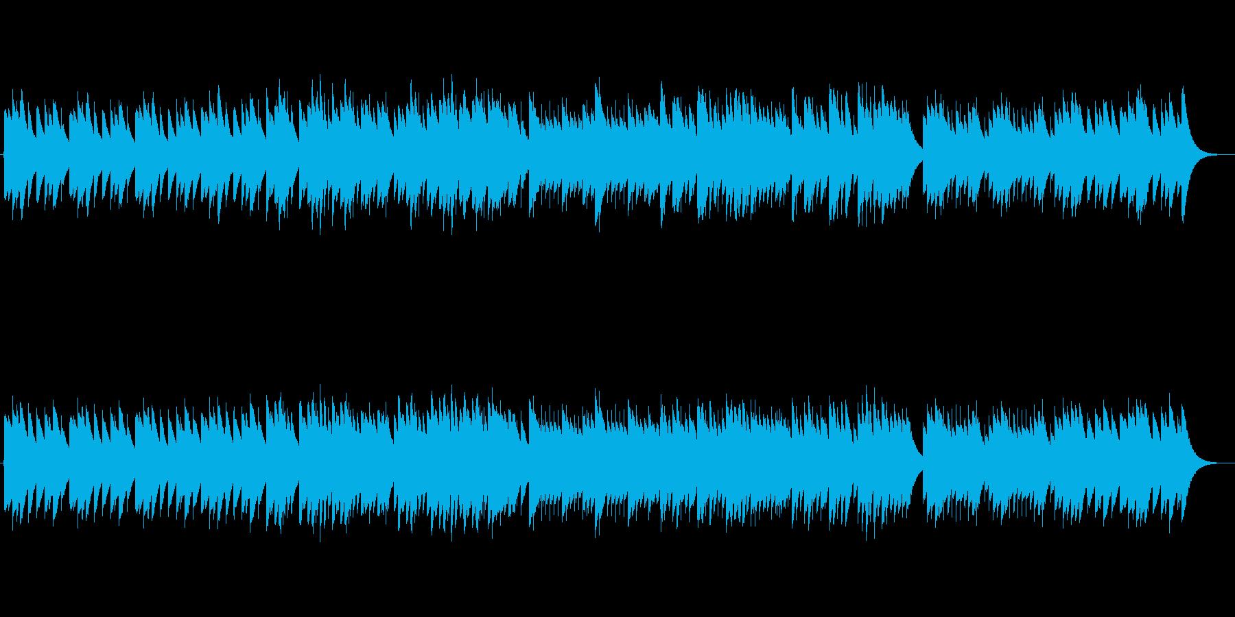 優しさ、爽やかさ、リラックスオルゴール音の再生済みの波形