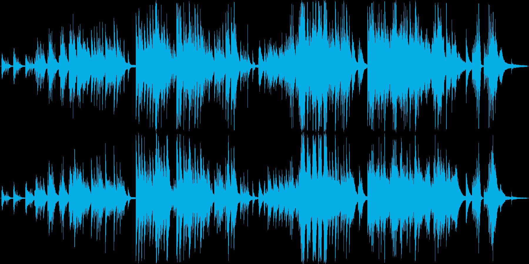 ピアノソロ 地球 自然の再生済みの波形