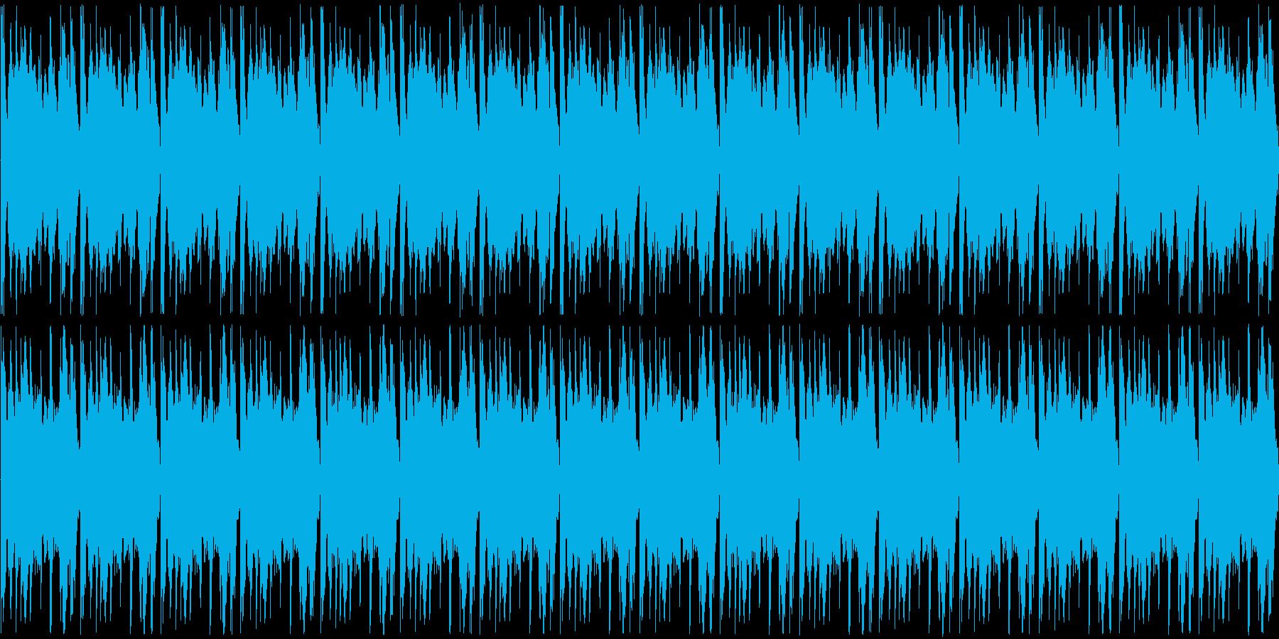 【ロック/ストリングス/盛り上がり】の再生済みの波形