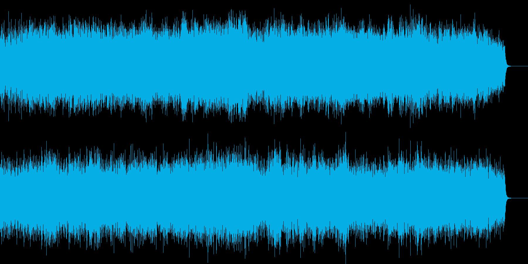 ファンタジー風オープニング オーケストラの再生済みの波形