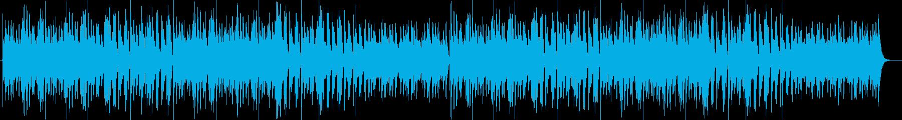 ゆっくりふんわりした木琴のようなbgmの再生済みの波形