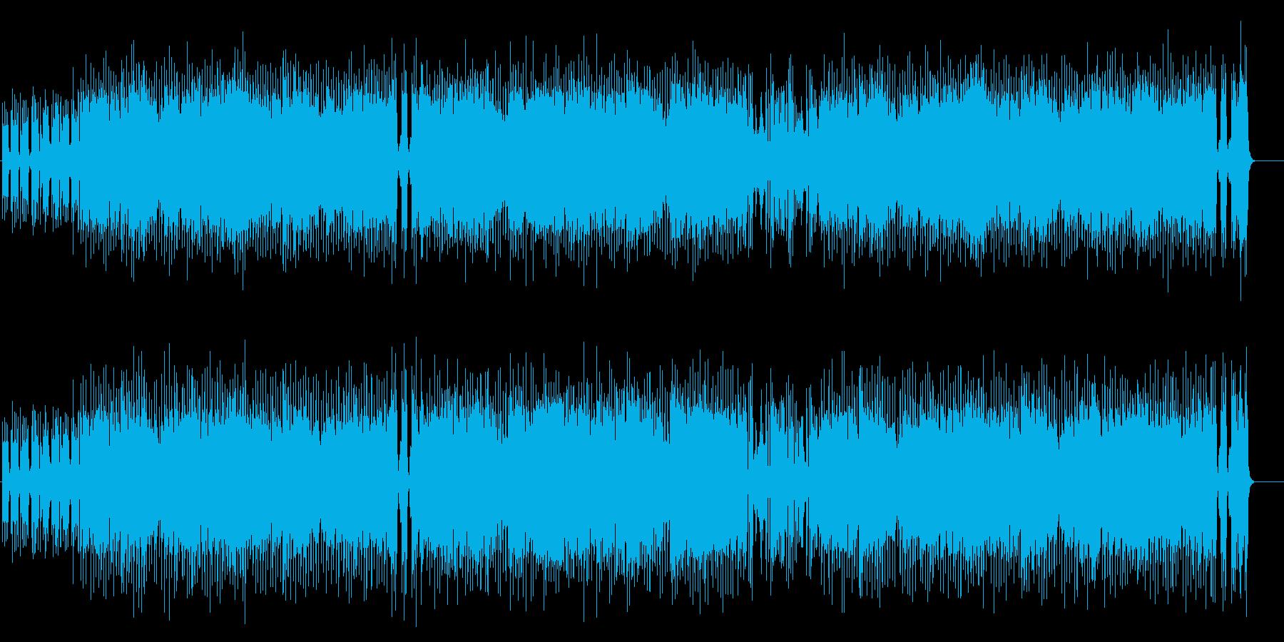 爽やかに弾むスマートなポップフュージョンの再生済みの波形