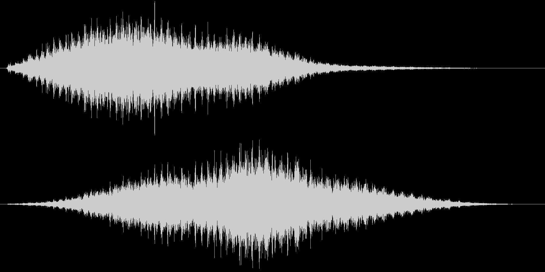 音侍SE「フルフル〜」重めな振り鈴L-Rの未再生の波形