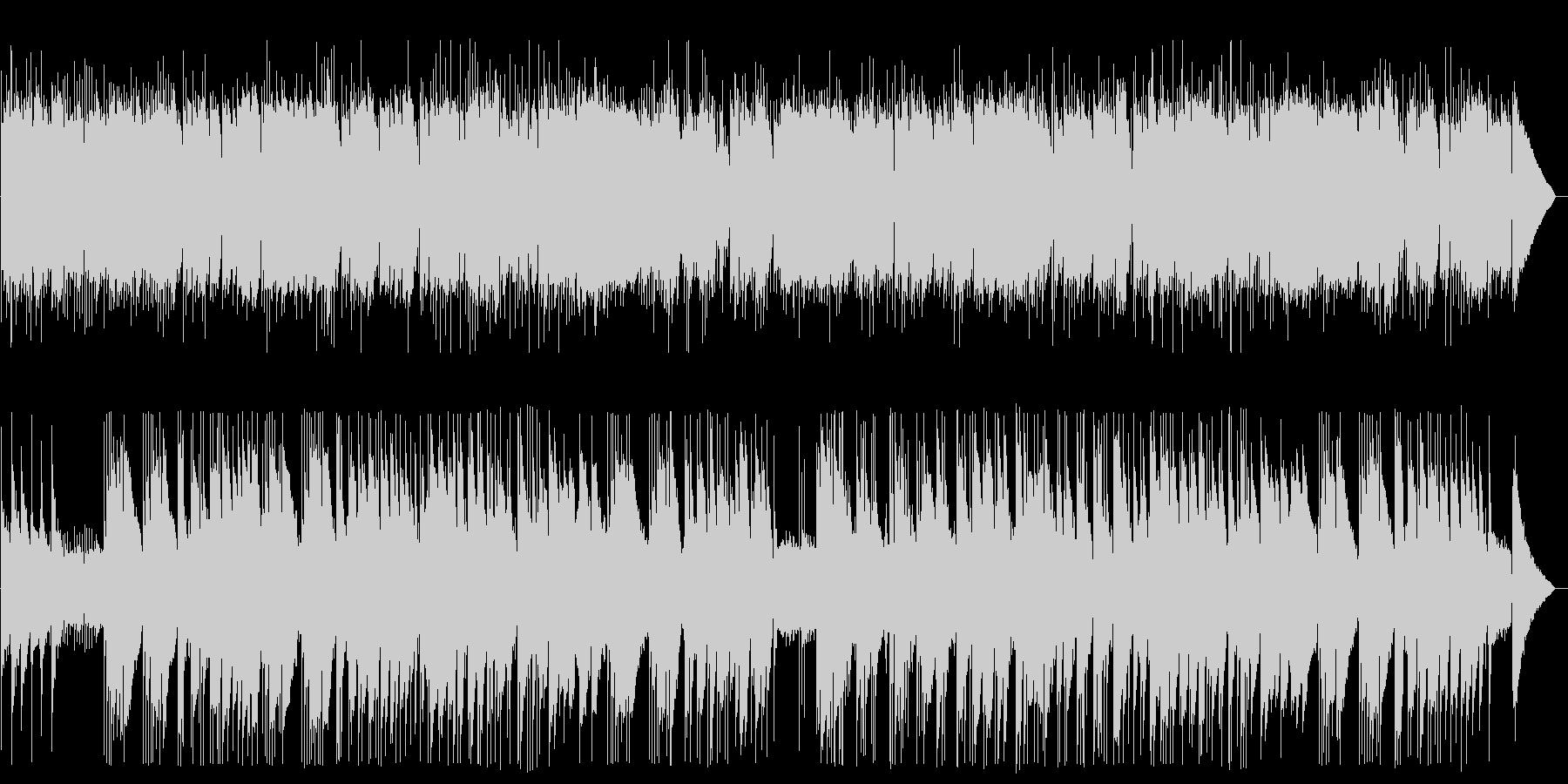 ギターデュオのヒーリングの未再生の波形