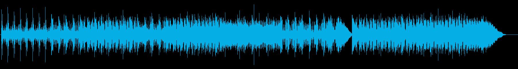 Saxの哀愁あるメロディ。不思議な雰囲気の再生済みの波形