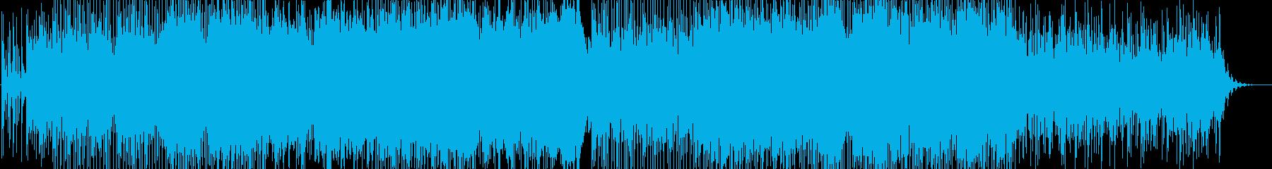 幻想的・浮遊感・戦闘曲の再生済みの波形
