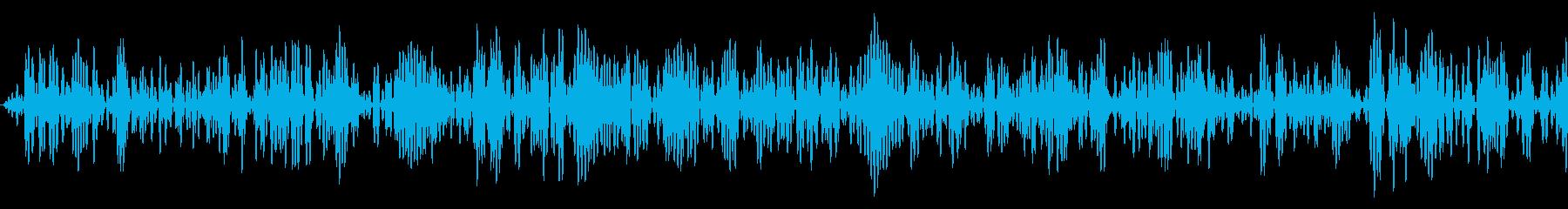 ザッ(レシーバーで喋った後に鳴るノイズ)の再生済みの波形